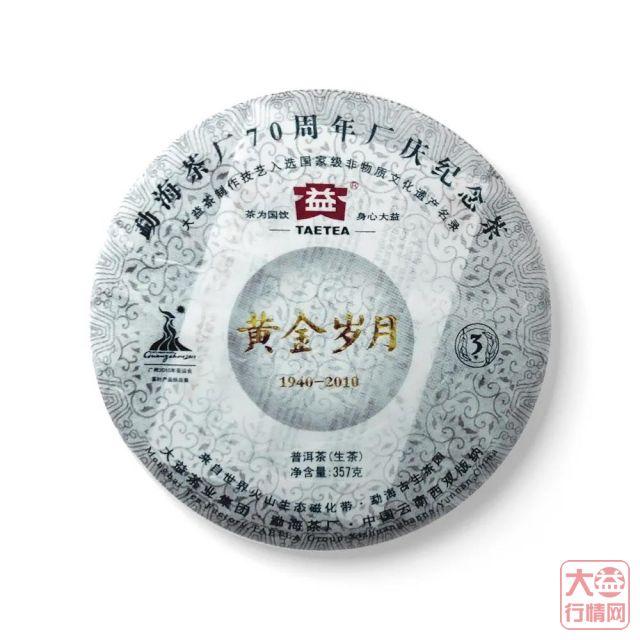 大益茶文化解读系列 NO31·黄金岁月