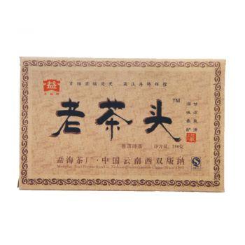 601 老茶头普砖 普洱茶价格¥3.65万