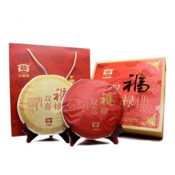 1501 福禄双喜 生熟套装普洱茶价格¥1300.00