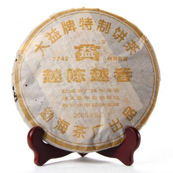 501 7742普洱茶价格¥46.5万